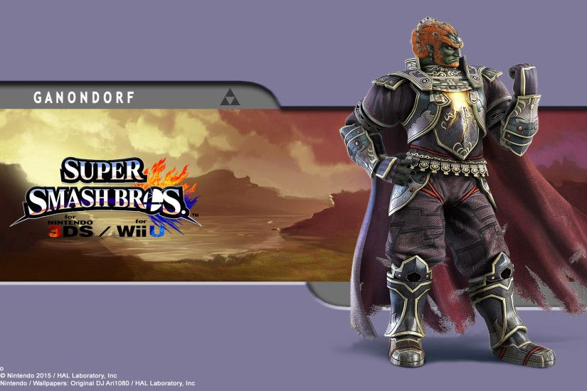 ... Ganondorf Wallpaper - SSB for 3Ds / Wii U by DJAri1080