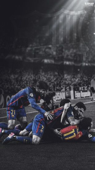 ... fc barcelona VS PSG HD WALLPAPER 2017 by subhan22