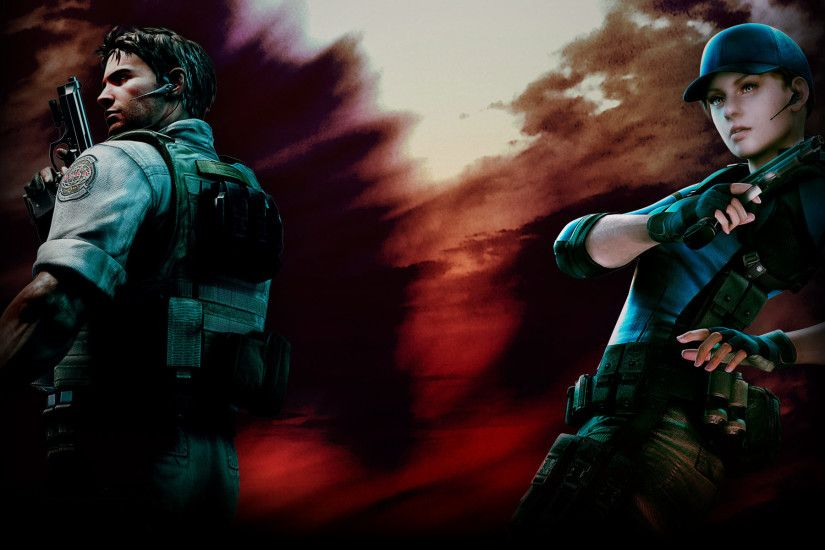 Resident Evil 5 images Chris and Jill HD wallpaper and background photos