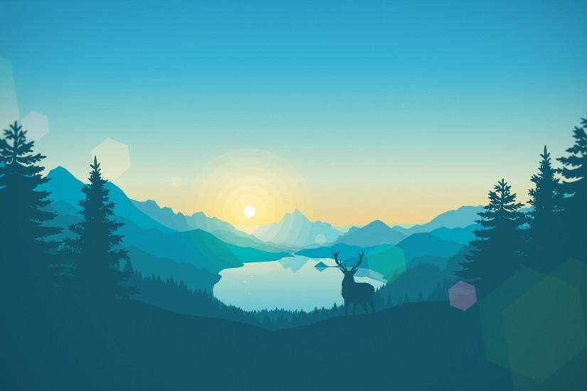 download firewatch wallpaper 3840x2160 large resolution