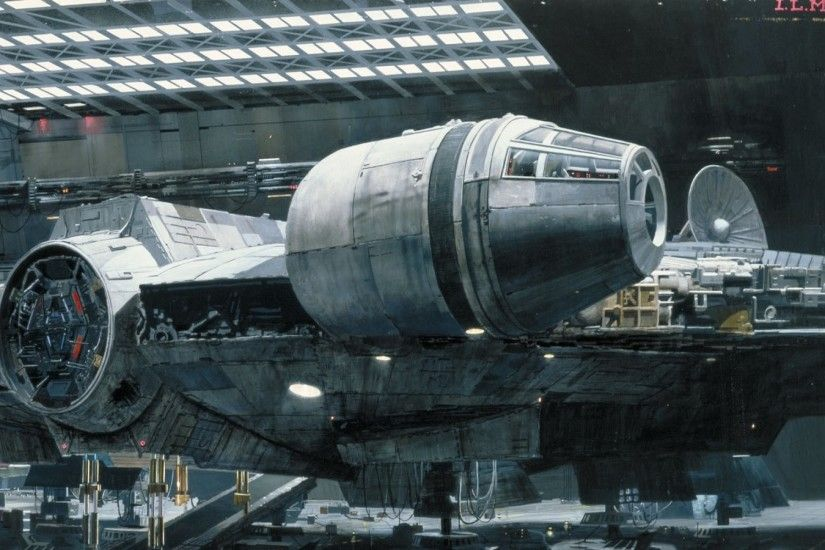 Movie - Star Wars Millennium Falcon Wallpaper