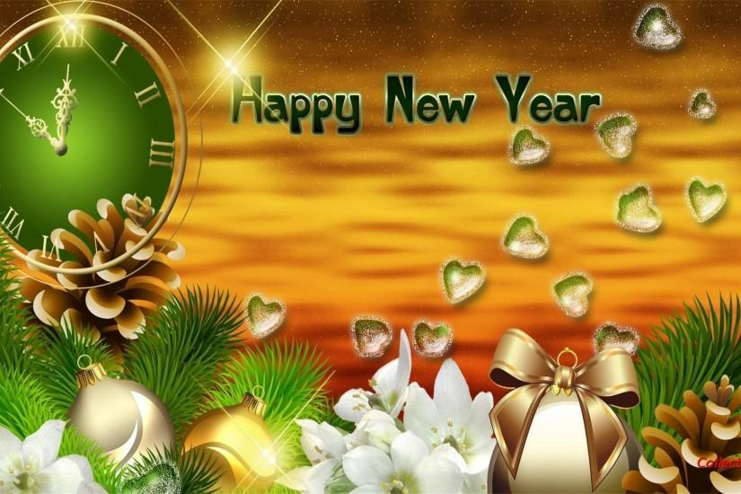 Wallpapers For > New Years Wallpaper 3d