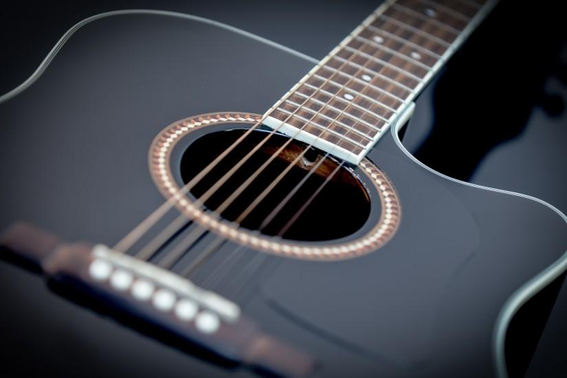 Pics Photos Guitar Black Background 1920x1200 · Black ...