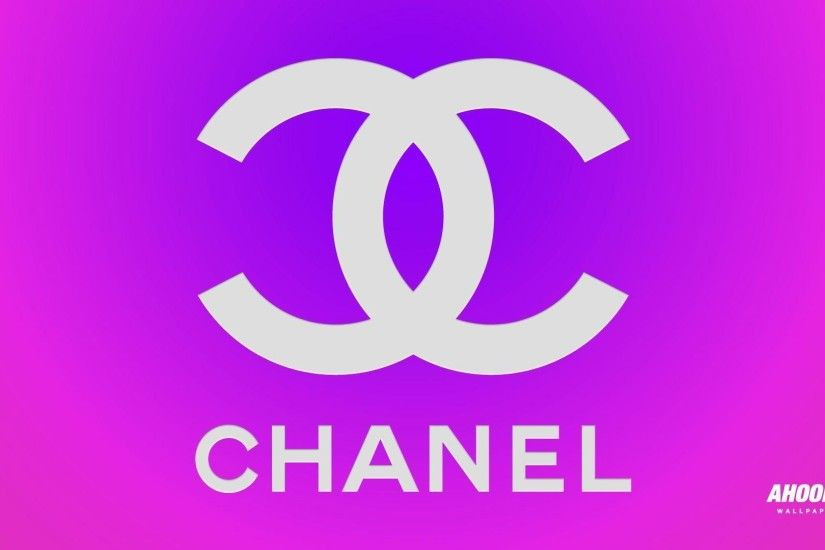 Wallpapers For > Dripping Chanel Logo Wallpaper