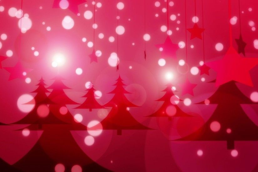 'Red Christmas' - Glamorous Winter Motion Background Loop_Sample2