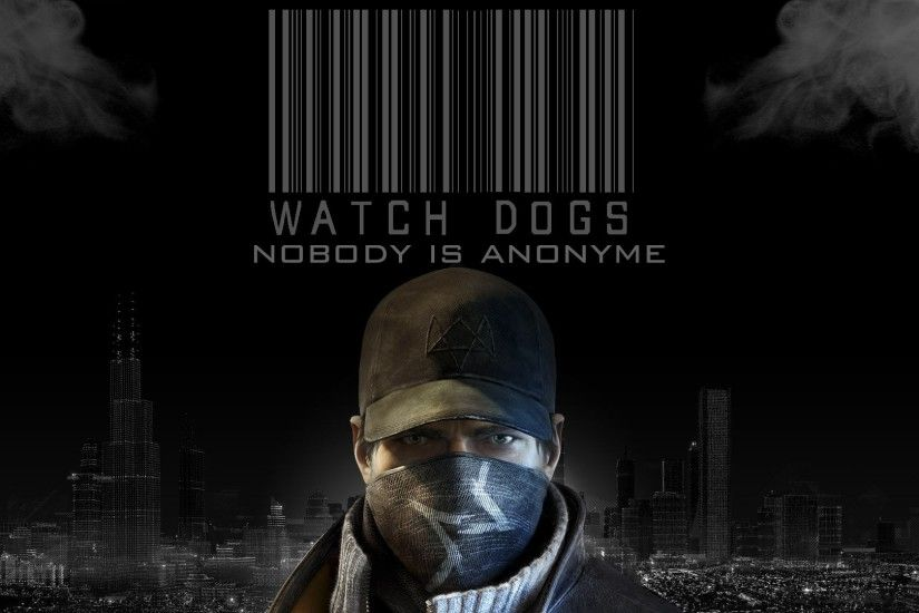 Watch Dogs Logo Game HD Wallpaper | Game HD Wallpaper | game hd