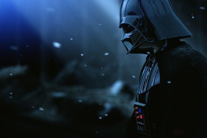 Preview wallpaper darth vader, armor, star wars, film, hat, snow 1920x1080