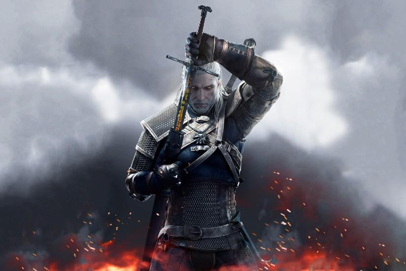 the witcher 3 wallpaper 2880x1800 screen
