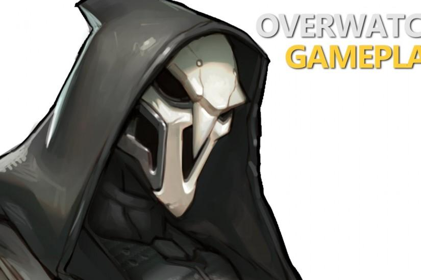 free overwatch reaper wallpaper 1920x1080 picture