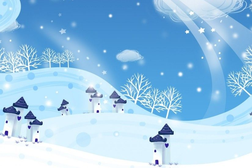 1920x1080 Wallpaper new year, christmas, snow, winter, houses, blizzard
