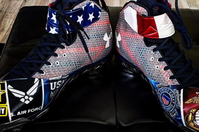 Bryce Harper's Fourth of July cleats are awesomely patriotic | NBC Sports  Washington