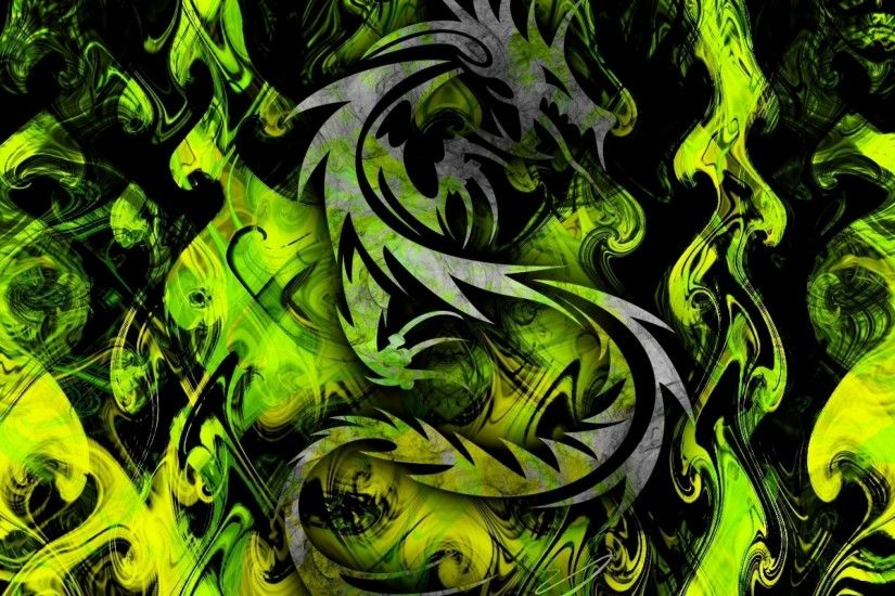 Green Tribal Design | Cool Designs And Backgrounds | Pinterest Green and  Black Abstract Wallpaper - WallpaperSafari ...