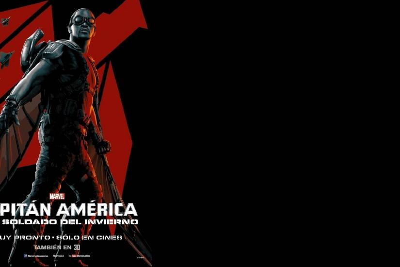 Movie - Captain America: The Winter Soldier Falcon (Comics) Anthony Mackie  Wallpaper