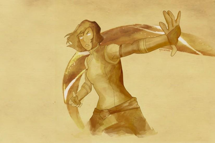 ... The Legend of Korra Wallpaper: Korra by AJsCanvas