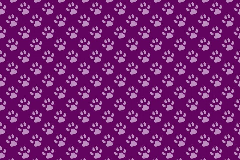 Paw Prints Background Wallpaper