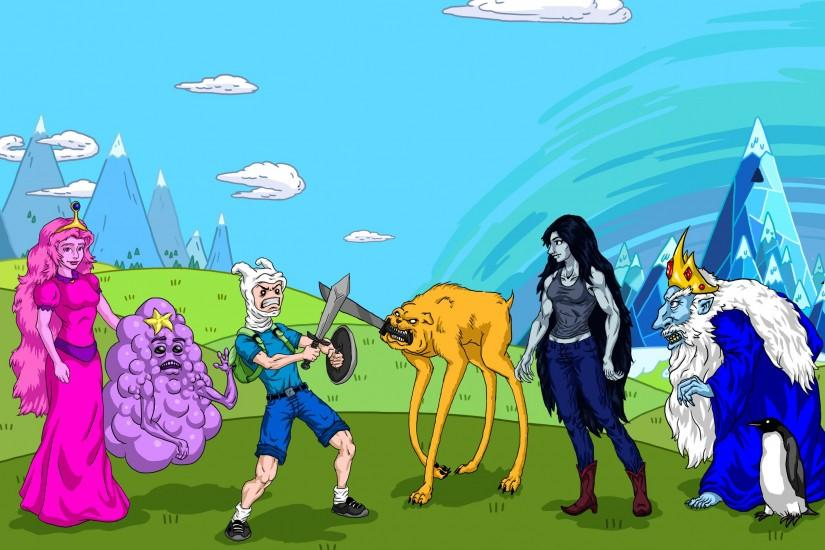 popular adventure time background 2500x1607
