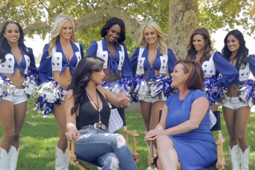 Dallas Cowboys Cheerleaders Talk Catfights & Drama in CMT's 'Making The  Team' - YouTube