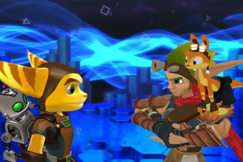 Jak and Ratchet images Ratchet and Clank VS Jak and Daxter. MMD.. HD  wallpaper and background photos