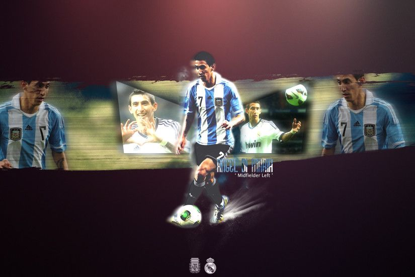 Angel Di Maria Wallpaper by ByWarf Angel Di Maria Wallpaper by ByWarf