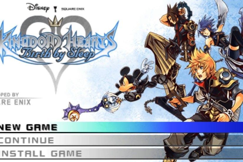Kingdom Hearts Birth by Sleep (US) - PPSSPP v1.2.2-501