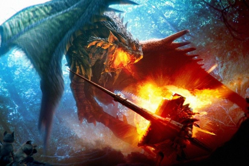 epic fire dragon wallpaper 1024x1024 - photo #4