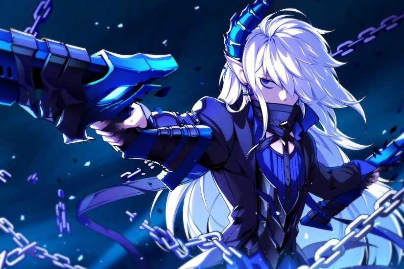 elsword-anime-style-horns-elf-ears-white-hair-games-1063.jpg (2188×1525) |  Anime | Pinterest | Anime