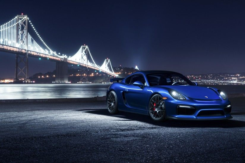 3840x2160 Wallpaper porsche, cayman, gt4, side view