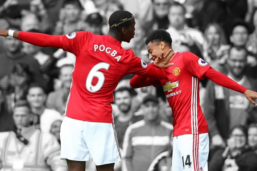 2048x1152 Paul Pogba vs Jesse Lingard - The Best Duo - Best Goals Skill -  Manchester