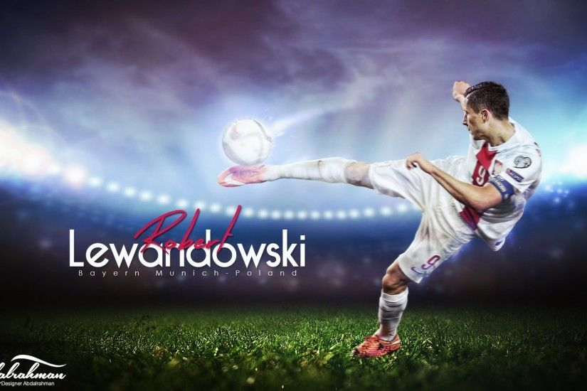 Wallpaper: Football Player Robert Lewandowski. High Definition HD 1920x1080