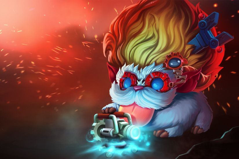 League of Legends Poro Champs: FiestaDeMascaras Artwork