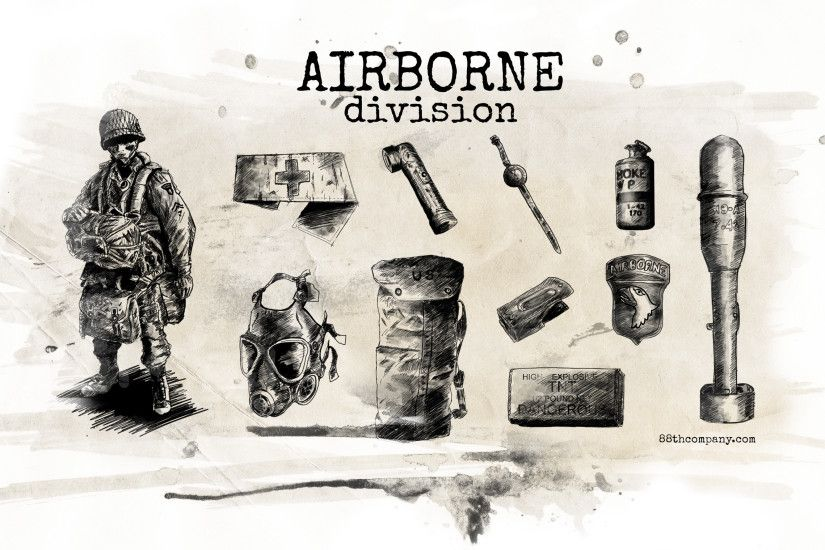 ... WWII Airborne Tools Wallpaper 2500x1440 by angelsd