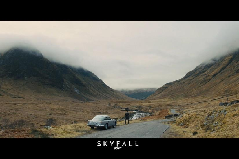 James Bond - Skyfall wallpaper #
