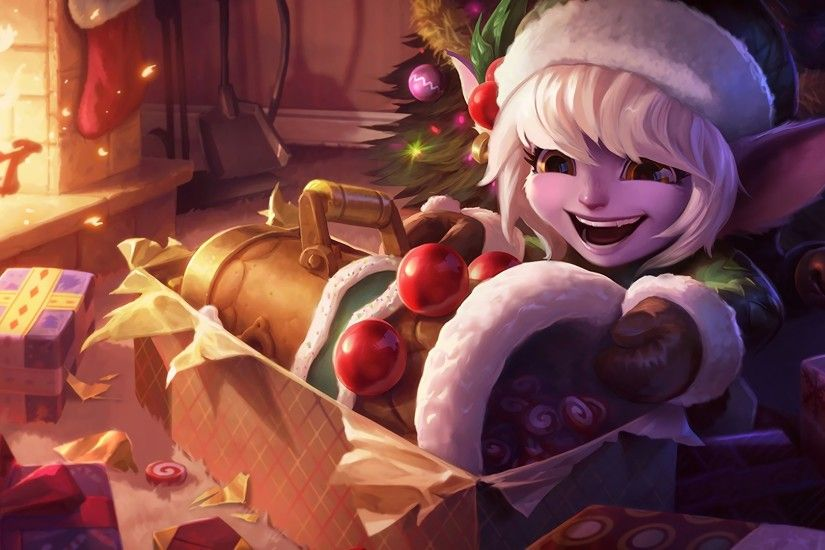 Earnest Elf Tristana Skin Splash Snowdown 2015 Update