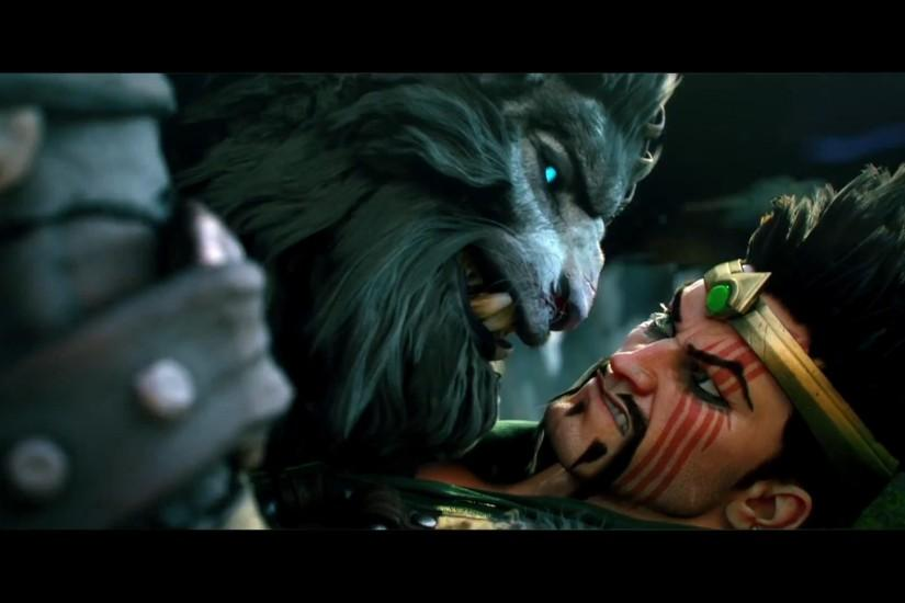 ... League Of Legends - Rengar And Draven by Els236