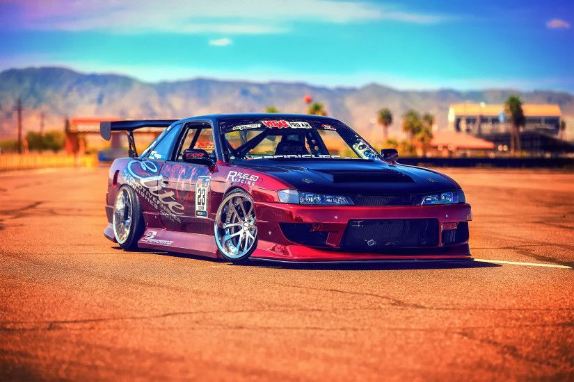 Nissan Silvia S14 drift tuning g wallpaper