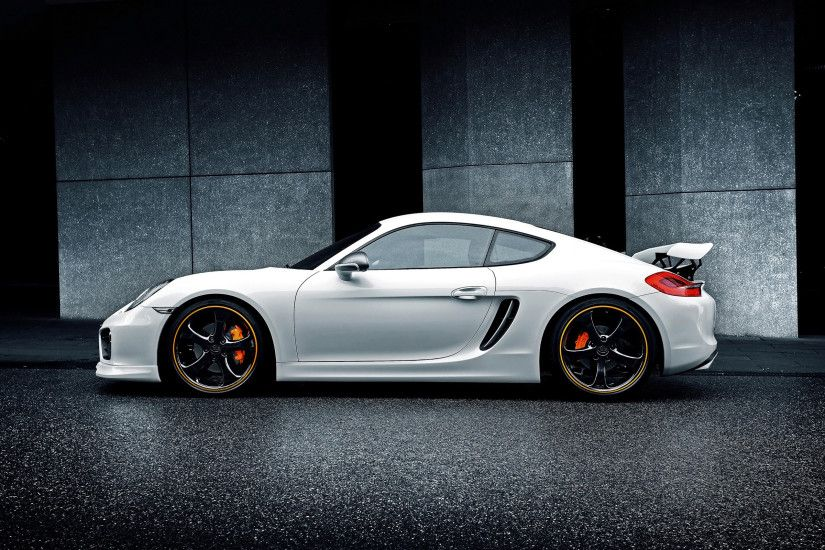Awesome Porsche Cayman GT4 Wallpaper Wallpaper
