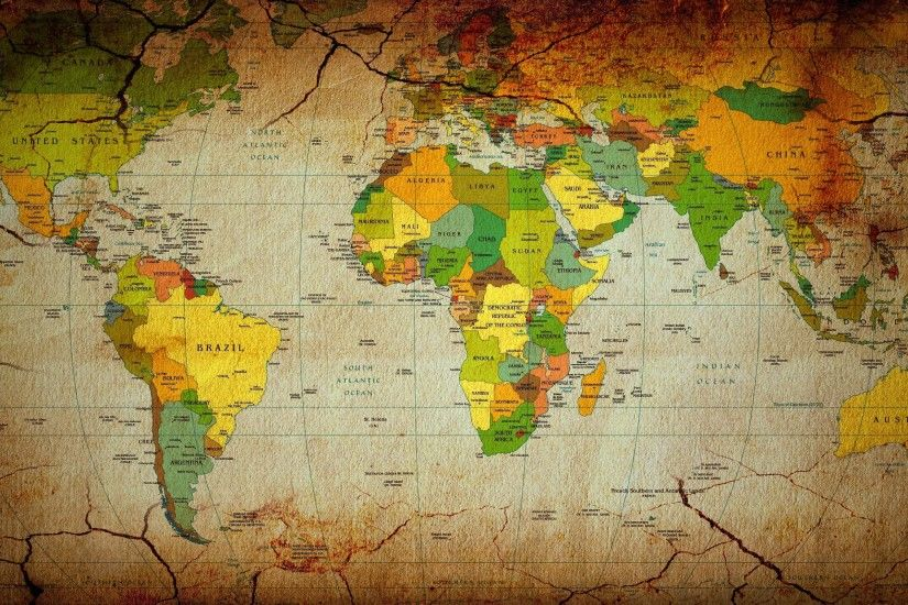 World Map Wallpaper 6254