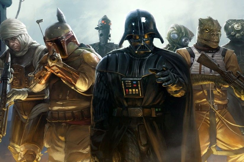 Star Wars Video Game – Darth Vader wallpaper