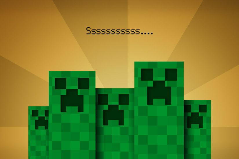 Creeper Minecraft Cool Backgrounds HD Wallpaper
