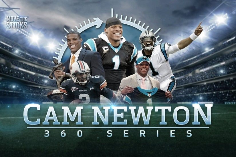 Cam Newton From Junior College To Mvp Cam Newton 360 Move The Cam Newton  Wallpapers 2017