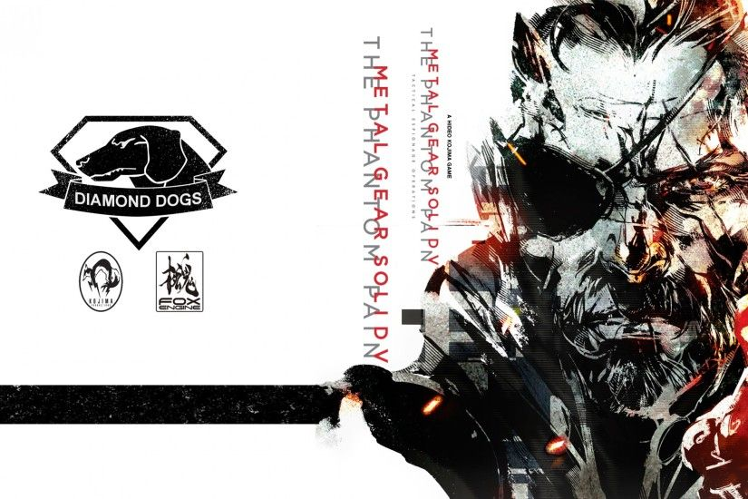 Preview wallpaper metal gear solid v, the phantom pain, art 3840x2160