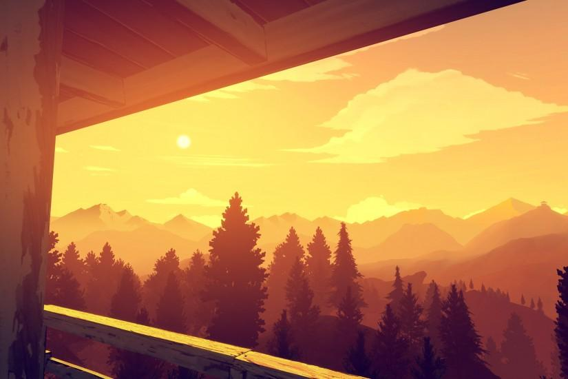 widescreen firewatch wallpaper 3000x1688 hd 1080p