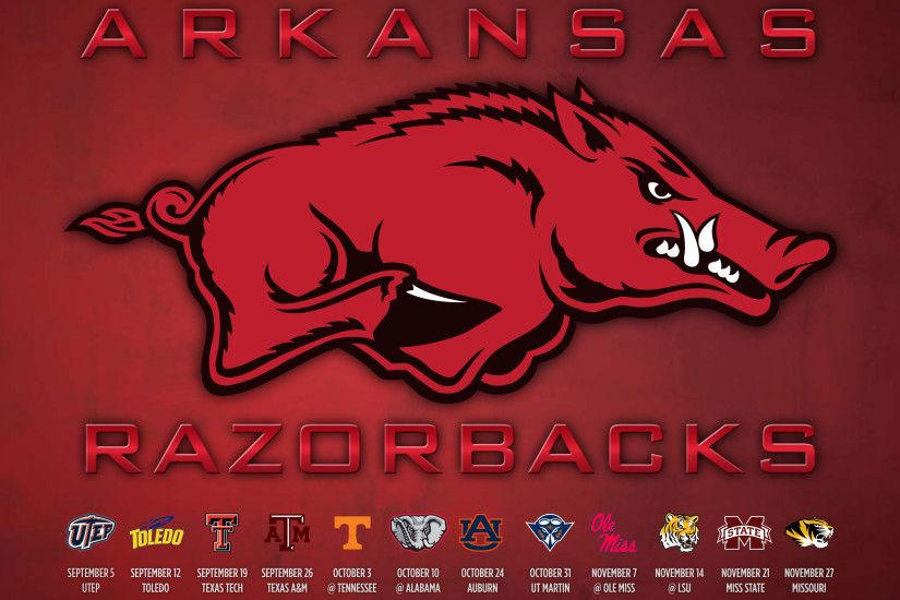 Razorback Football Schedule 2015 Wallpaper