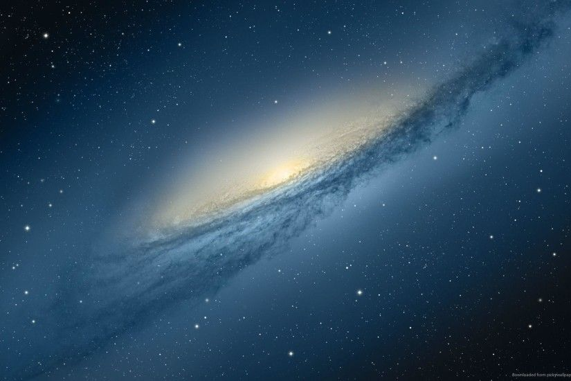 Download 1920x1200 Mac OS X Mountain Lion Andromeda Galaxy Wallpaper