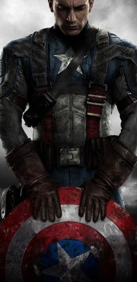 Captain America: The First Avenger, Chris Evans, Shield, Clouds