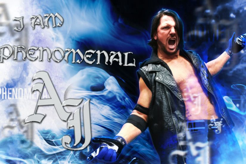 ... WWE AJ Styles Wallpaper 2016 by LastBreathGFX