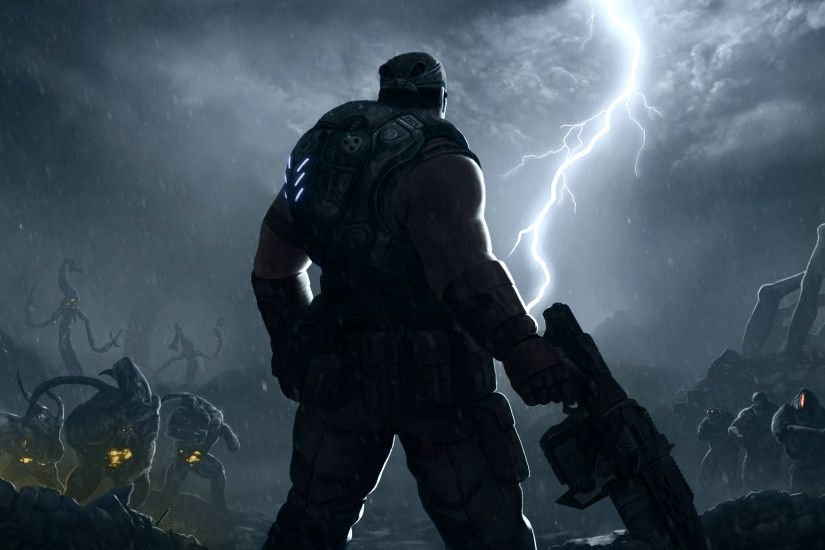 Gears Of War 3 Computer Wallpapers, Desktop Backgrounds | 3584x1696 .