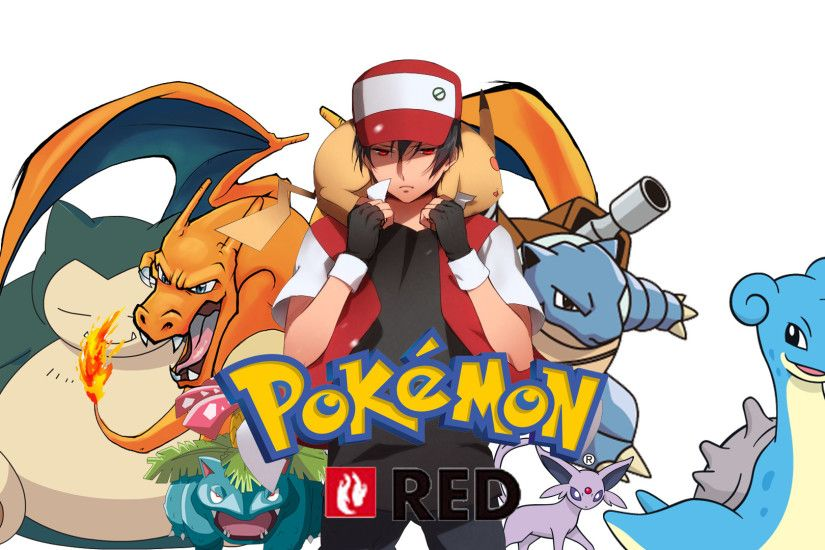 Pokemon Red Wallpaper by Roxxas21 on DeviantArt