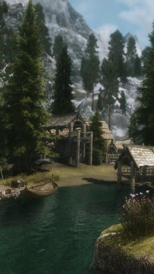 Download this Wallpaper iPhone 6 - Video Game/The Elder Scrolls V: Skyrim (