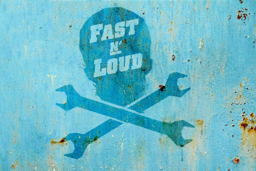 ... Fast N' Loud Wallpaper: Skull